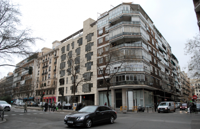 Edficio residencial en la calle San Bernardo