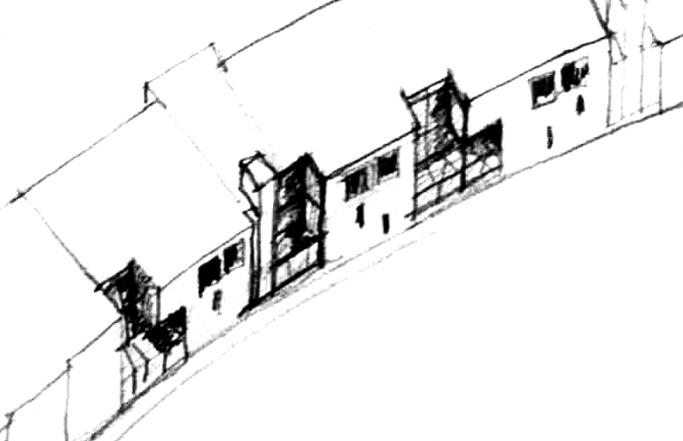 Colegio Institución en la calle Romero Basart