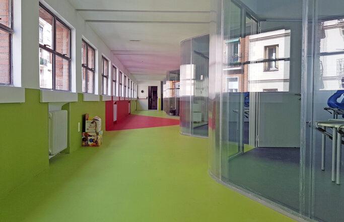 Propuesta modificación de espacios colegio La Salle San Rafael
