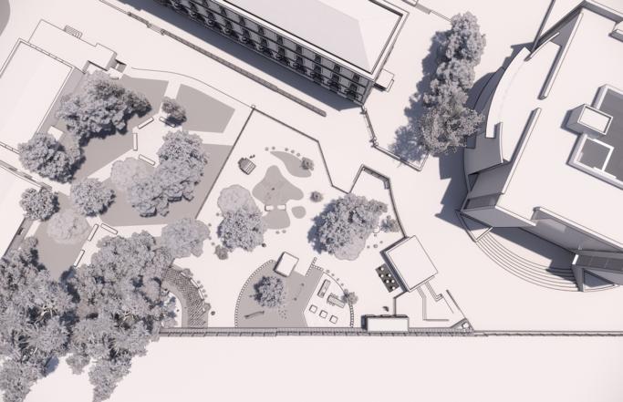 Propuesta de nuevo parque infantil. Colegio La Salle Griñón
